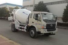 福田5立方水泥搅拌车