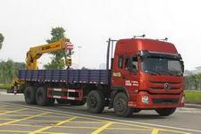 程力威牌CLW5310JSQT4型随车起重运输车