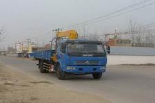 程力威牌CLW5120JSQD4型随车起重运输车