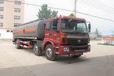 程力威牌CLW5253GRYB4型易燃液体罐式运输车
