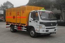 同心牌TX5080XRQ4FT型易燃气体厢式运输车