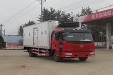 國五解放冷藏車箱長6.6米箱式運輸車廠家直銷價