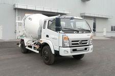 南骏牌CNJ5120GJBFPB34M型混凝土搅拌运输车