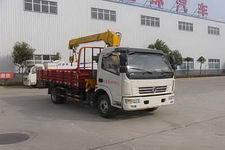 HCQ5080JSQDFA型华通牌随车起重运输车图片