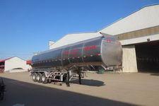 正康宏泰牌HHT9403GSY型铝合金食用油运输半挂车图片