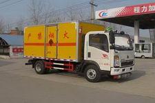 程力威牌CLW5040XQYZ4型爆破器材运输车