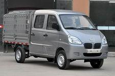 泓锋泰HFT5024CCYBEV03型纯电动双排仓栅式运输车