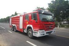 中卓时代牌ZXF5310GXFSG160型水罐消防车