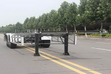 五岳14.6米31.1吨3轴集装箱运输半挂车(TAZ9354TJZB)