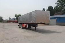 豫前通12米30吨3轴厢式运输半挂车(HQJ9370XXY)