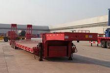 沃顺达15.5米27.5吨6轴低平板半挂车(DR9401TDP)