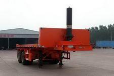 沃顺达7.2米28.2吨2轴平板自卸半挂车(DR9357ZZXP)