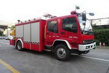 中卓时代牌ZXF5120TXFJY100/W型抢险救援消防车