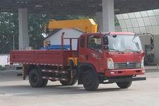 程力威牌CLW5120JSQZ4型随车起重运输车