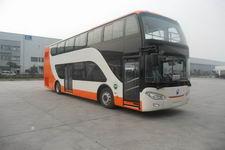 亚星牌JS6111SHEVC型插电式混合动力双层城市客车图片