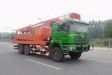 物探牌WTJ5250TZJSQ型钻机车