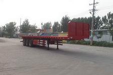 华盛顺翔牌LHS9402ZZXP型平板自卸半挂车