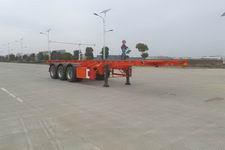 江淮扬天9.7米35吨3轴危险品罐箱骨架运输半挂车(CXQ9400TWY)