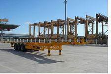 蛇口港机牌SGJ9362TJZG型集装箱运输半挂车
