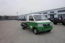 九通牌KR5020ZXXEV型纯电动车厢可卸式垃圾车图片