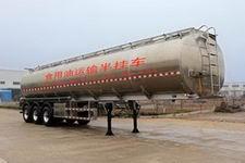 岱阳牌TAG9401GSY型铝合金食用油运输半挂车图片