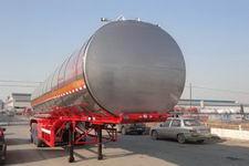 昌骅牌HCH9401GSYLHJ1型铝合金食用油运输半挂车图片