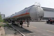 昌骅牌HCH9401GSYLHJ2型铝合金食用油运输半挂车图片