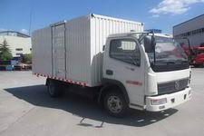 东风神宇国四单桥厢式运输车101-112马力5吨以下(DFD5032XXYLN1)