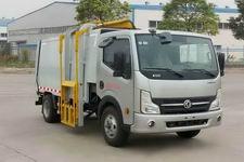 华环牌TSW5070ZZZEV型纯电动自装卸式垃圾车图片
