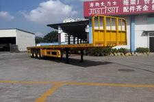 蛇口港机牌SGJ9401TP型平板半挂车