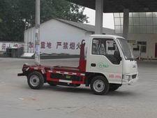 CLW5021ZXXH4型程力威牌纯电动车厢可卸式垃圾车图片