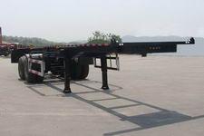 海福龙7.2米31吨2轴危险品罐箱骨架运输半挂车(PC9350TWY)