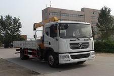 程力威牌CLW5162JSQD4型随车起重运输车