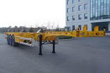 鹰力牌LYF9400TJZ型集装箱运输半挂车
