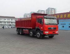 解放牌CA3310P2K2L4T4NA80型平头液化天然气自卸汽车图片
