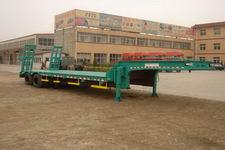 川腾11米13吨2轴低平板运输半挂车(HBS9191TDP)