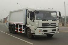 天龙后双桥压缩垃圾车JDF5250ZYSDFL4