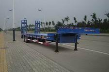 鑫华驰12.5米27.3吨2轴低平板半挂车(THD9351TDP)
