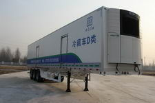 中原冷谷牌YTL9400XLC型冷藏半挂车图片