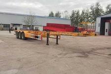 豫前通15米32.5吨3轴集装箱运输半挂车(HQJ9380TJZE)