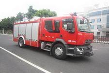 中卓时代牌ZXF5150GXFAP40/L型A类泡沫消防车
