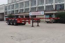 汇斯诚牌DWJ9400TJZ型集装箱运输半挂车图片