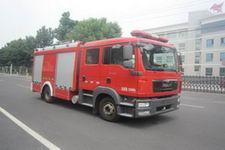 中卓时代牌ZXF5120GXFSG40型水罐消防车