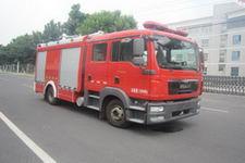 中卓时代牌ZXF5120GXFPM40型泡沫消防车