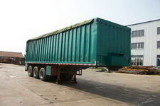 蓬莱牌PG9400ZLS型散装粮食运输半挂车图片