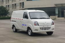 红星牌HX5028XXYVEV型厢式运输车图片