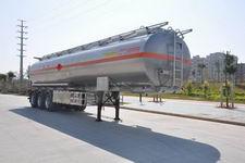 港粤12.6米33.1吨3轴易燃液体罐式运输半挂车(HSD9400GRY)