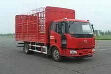一汽解放國四單橋倉柵式運輸車144-165馬力5-10噸(CA5160CCYP62K1L3E4)