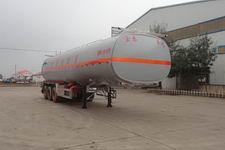正康宏泰牌HHT9402GSY型铝合金食用油运输半挂车图片
