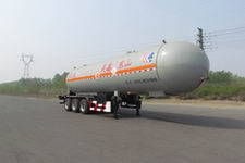 万鑫鑫昊11.6米25.6吨其它液化气体运输半挂车(WXH9402GYQ)
